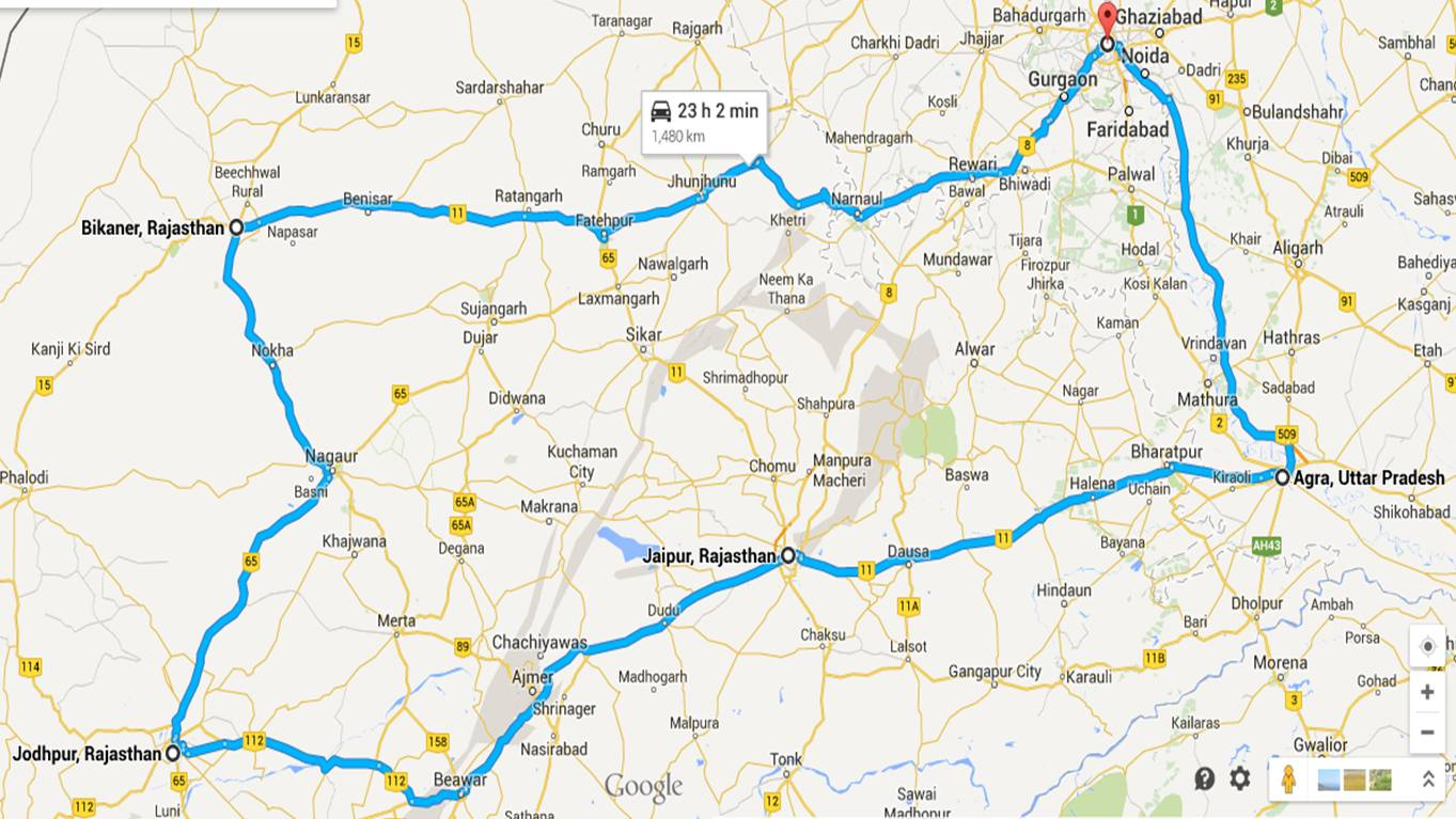 Delhi-Bikaner overnight train journey – Sree is travelling