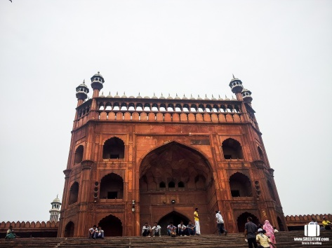 Entrance to the Jama Masjid
