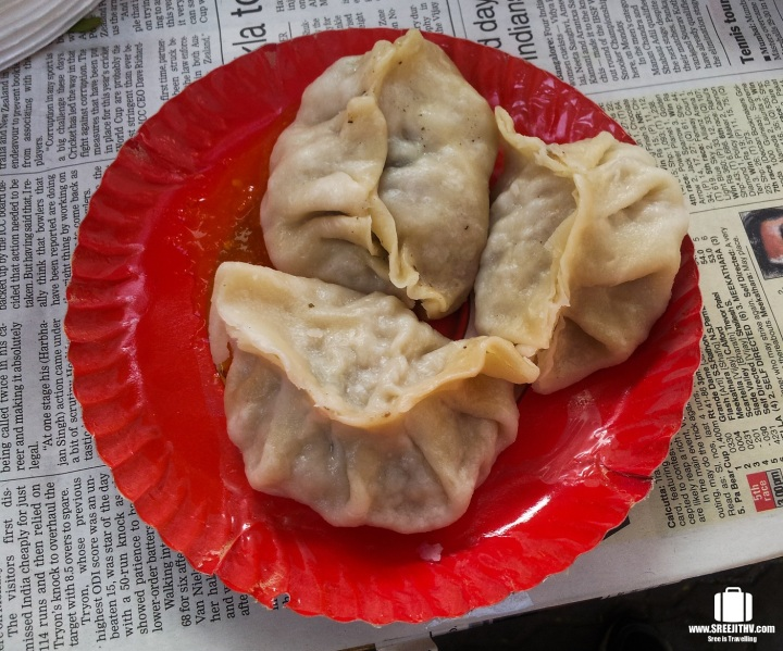 Chinese Chicken Momos