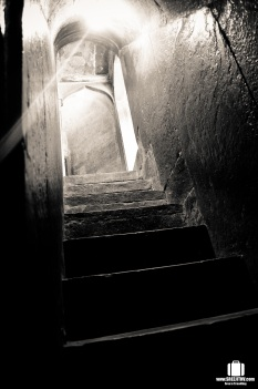 Steps towards the top of the minaret
