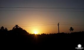A Goan sunset