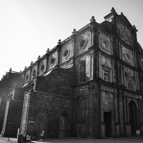 Basilica of Bom Jesus, Old Goa (1)