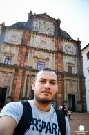 Selfie at Basilica of Bom Jesus