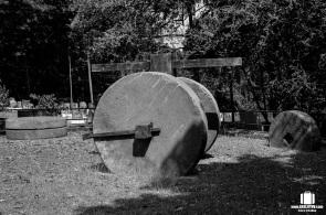 Mill stones of Gun Power Factory