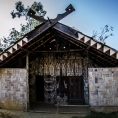 Paomai Chief's house