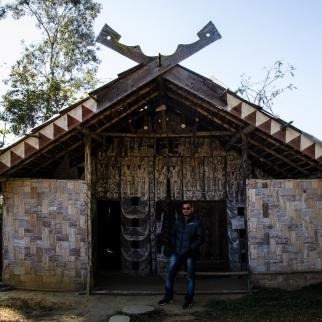 Paomai Chief's house