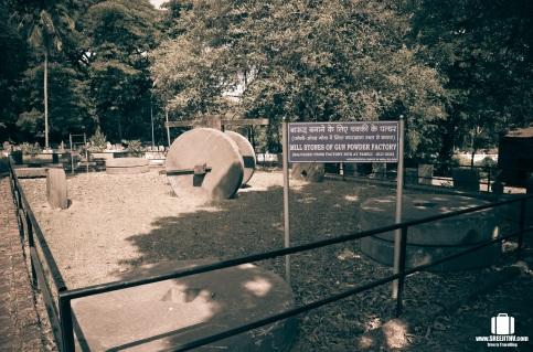 Mill stones, Goa (1)