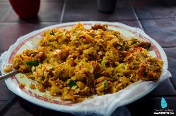 Chicken Kottu at Colombo