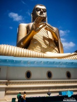 Golden Buddha at Dambulla, Sri Lanka (1)