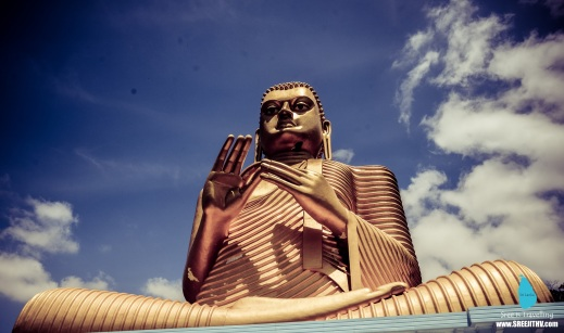Golden Buddha at Dambulla, Sri Lanka (11)