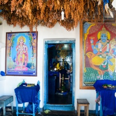 Shrine of Vishnu inside 1. Devaraja Viharaya