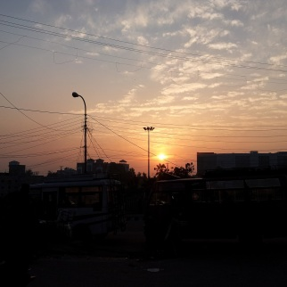 Sunset at Jammu. #Nofilters