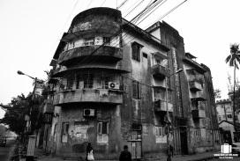 Crumbling apartments