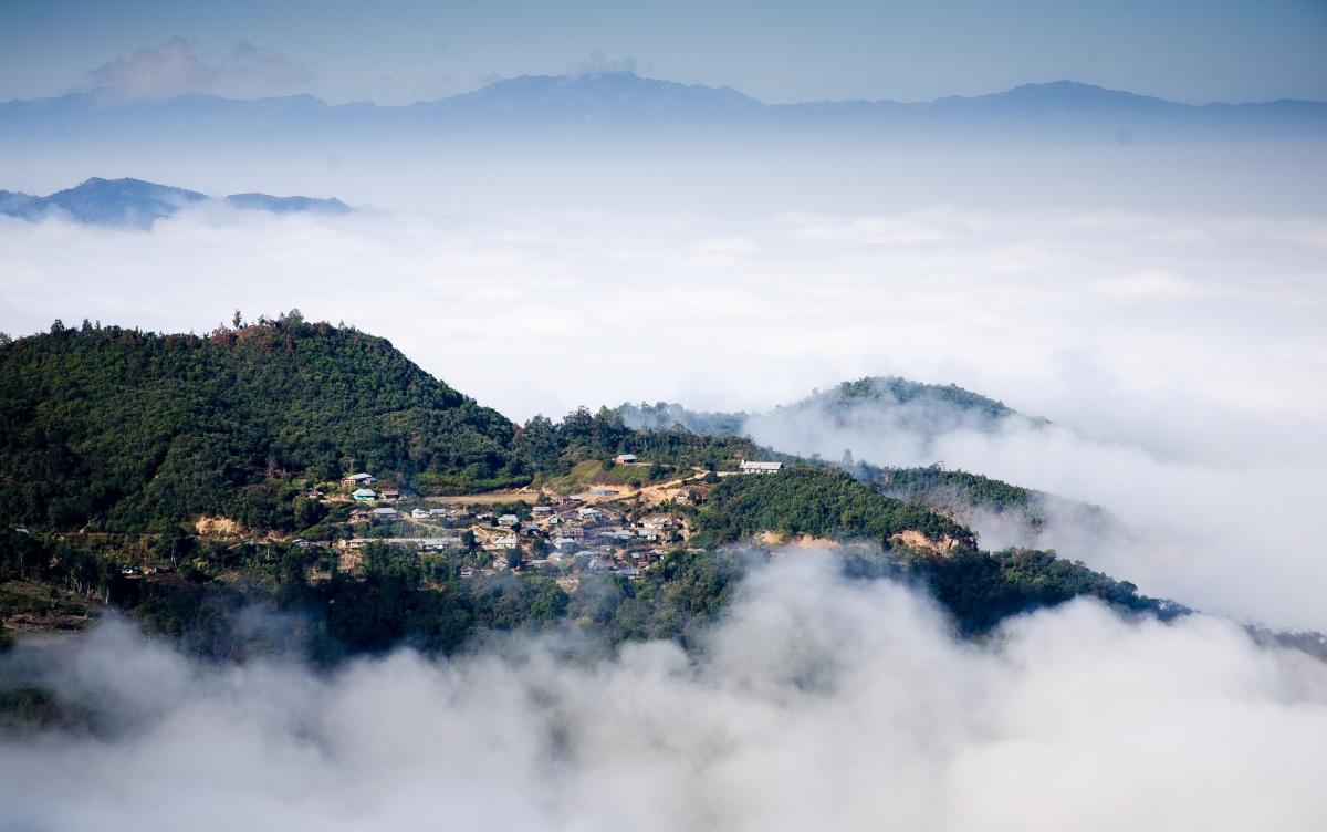 In pictures: A misty morning in Manipur | Northeast India