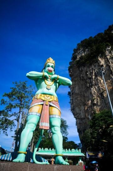 Simians at Batu caves - Sree is travelling (1)