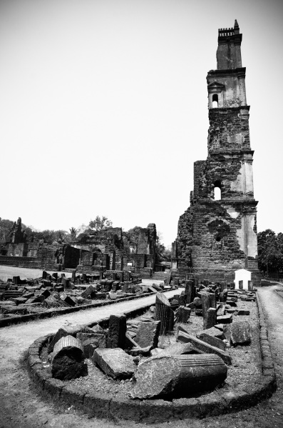 St Augustine ruins, Old Goa (1)