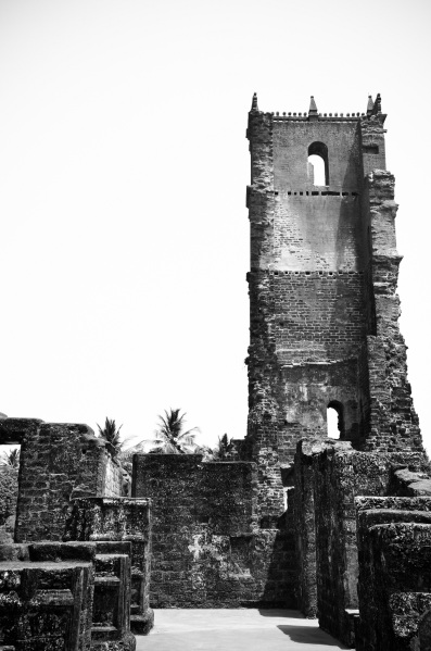 St Augustine ruins, Old Goa (14)