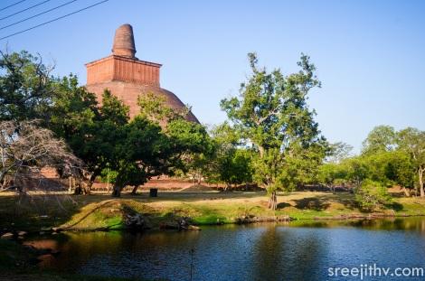 Picture of Jethawanaramaya dagoba, Anuradhapura, Sri Lanka (1)