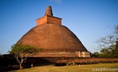 Picture of Jethawanaramaya dagoba, Anuradhapura, Sri Lanka (2)