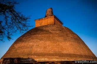 Picture of Jethawanaramaya dagoba, Anuradhapura, Sri Lanka (3)
