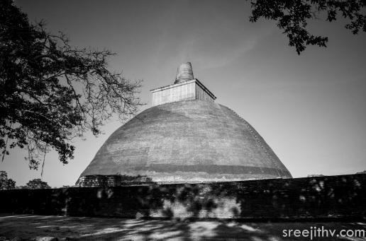 Picture of Jethawanaramaya dagoba, Anuradhapura, Sri Lanka (4)