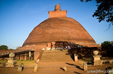 Picture of Jethawanaramaya dagoba, Anuradhapura, Sri Lanka (5)