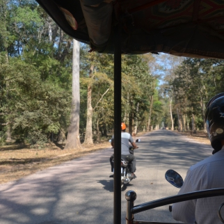Tuk-tuk tour of Angkor Wat