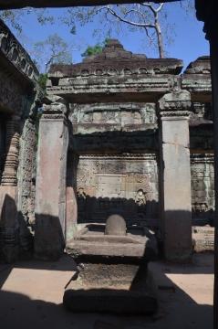 Shiv Linga at Preah Khan