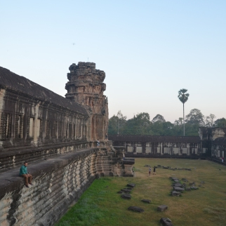 Sreejith at Angkor Wat