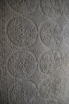 Restored motifs at Angkor Wat