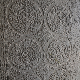 Restored motifs at Angkor Wat