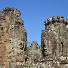 Faces at Bayon