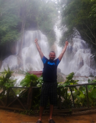 Sreejith at Tat Kuang Si Falls