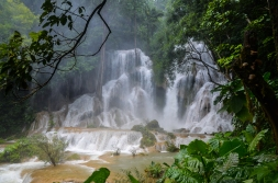 Tat Kuang Si falls, Laos