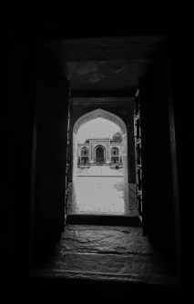 Main gate of Tomb of Itimad-ud-Daulah at Agra