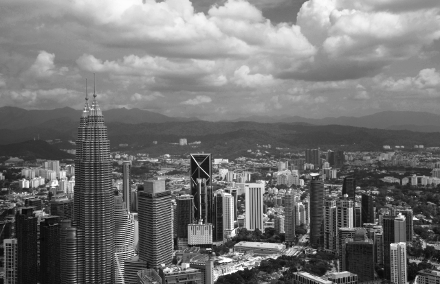 Atop kL tower