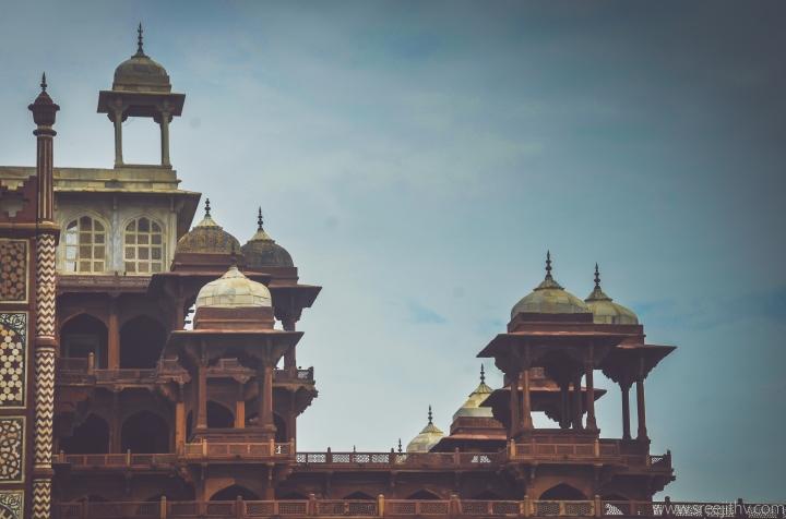 Akbar's tomb Sikandra