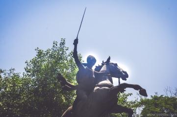 Memorial of Rani Laxmi Bhai, popularly know as Jhansi Ki Rani, Gwalior