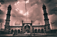 Taj-ul-Masjid, Bhopal, one of the largest mosques in the world