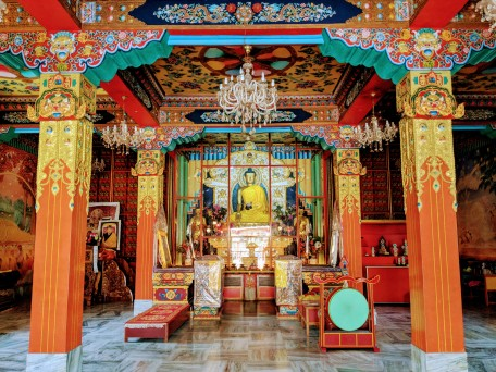 Karma temple, Bodh Gaya - sree is travelling