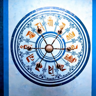 Tibetan temple Bodh Gaya, sree is travelling