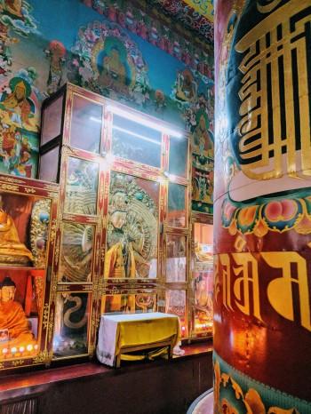 Tibetan temple Bodhgaya_ sree is travelling