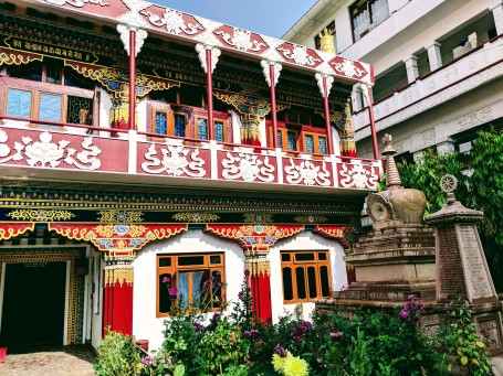 Tibetan temple Bodhgaya_ sree is travelling